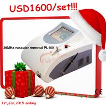 30 mhz de frecuencia de alta vasculares eliminación de venaseliminación láser de la máquina spider eliminación de venas