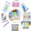 China Manufacturer squeezable carry-on portable silicone samsonite travel accessories