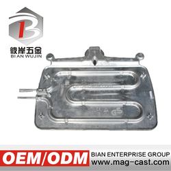China factory manufactured customized aluminum cookware die cast parts