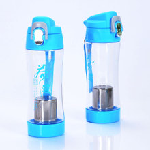 high quality water fruit infuser bottle plastic with strainer