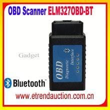 Portable Wireless ELM327 Scan OBD2 EOBD Bluetooth Scan Tool ELM 327 Bluetooth ELM327 OBD II Adaptor