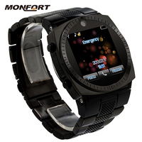 Top selling HD Resistive Touch Screen Unlocked Bluetooth wifi 3g android smart watch phone