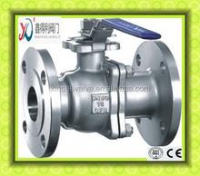 High Mounting Pad 2PC ANSI Flanged Ball valve
