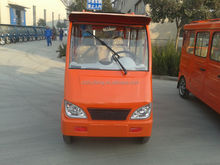 working 100km electric tricycle with generator
