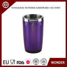 1400ml stainless steel inner and plastic outer bottle cooler