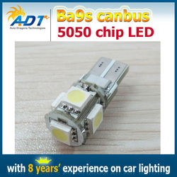 Canbus Ba9s H6W LED Coche lamp