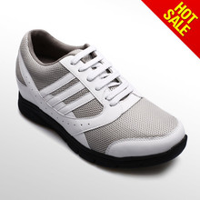 men sport shoes comfortable breathable sneakers with height increasing