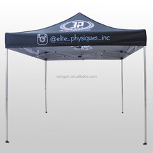 Custom sublimation printeing canopy tent, portable aluminum outdoor gazebo