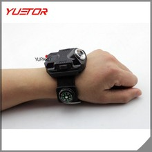 Q5 LED lamp of wrist watches lamp outdoor built-in rechargeable battery night running strong light flashlight
