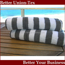 100% cotton yarn dyed Color Stripe Beach Towel 80x150cm, 600gsm
