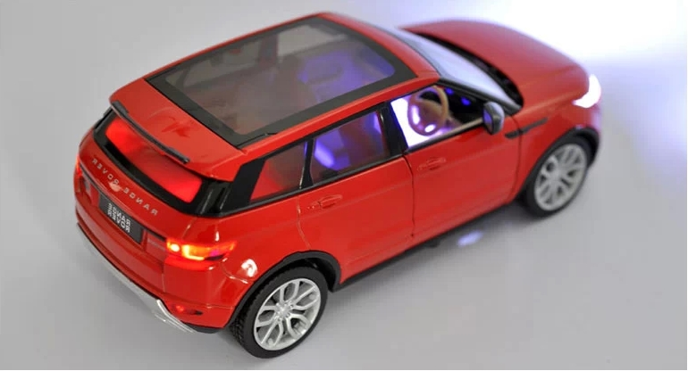 124 Alloy Car Model For Range Rover Evoque-12