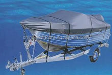 600D solution dyed polyester Boat Cover trailerable boat cover