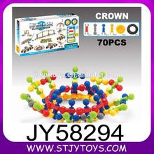 70PCS iluminan los niños de juguete de ladrillo juego de construcciones de plástico inteligente