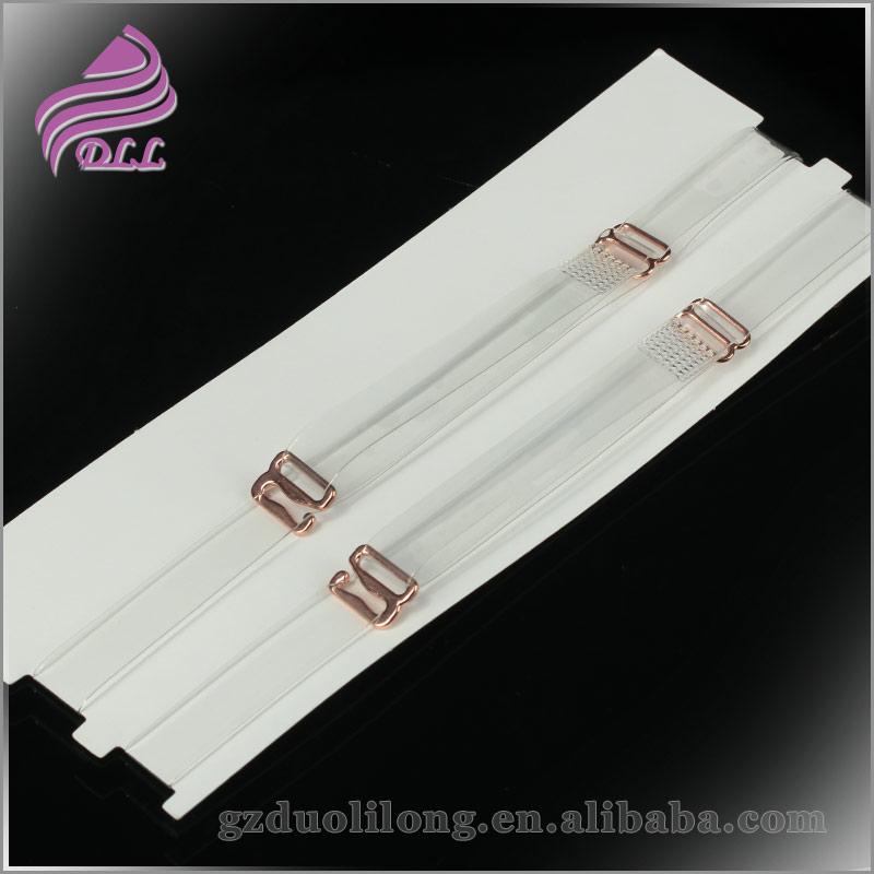 Transparent Bra Straps With Metal Hooks Metal Hooks Transparent