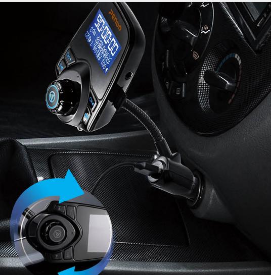 bluetooth volant mains libres voiture kit avec caller id. Black Bedroom Furniture Sets. Home Design Ideas