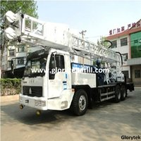 300 Meters Truck mounted water well drilling machine manufacturer with spare parts