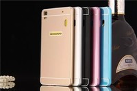 High Quality Back Cover Aluminum Metal Bumper Frame + PC Phone Back Case for Lenovo K3 Note A7000