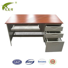 office desk with locking drawers / office desk specifications / modern office furniture metal frame executive office desk