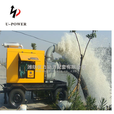 Top sale diesel irrigation pump diesel engine powered for Diesel irrigation motors for sale