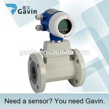 Alta precisión de Gas Natural medidor de flujo de turbina