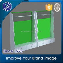 Unique clothing display system good quality clothing rack display furniture and clothing store display stand rack