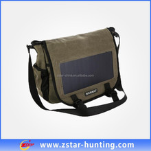hot selling 6.5W sunpower solar bag for camping/hiking/travelling