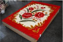 2015 new China product popular fleece coral fleece flannel fleece blanket