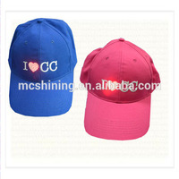 Led Lighting Boy and Girl Hat Snapback Cap