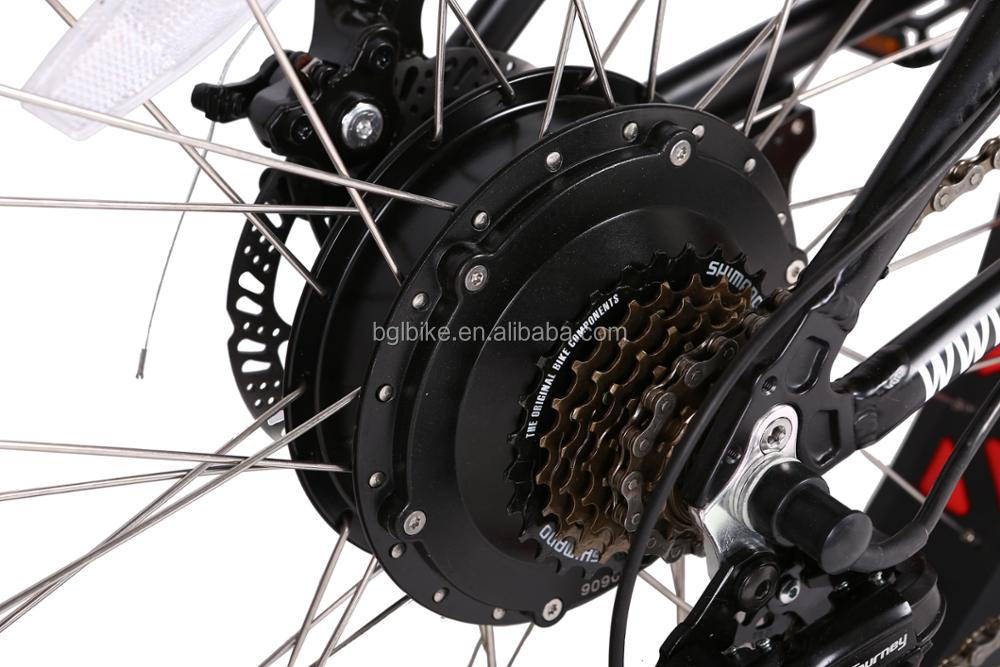 2017 high quality electric bike/fat tire mountain bicycle suitable for adult