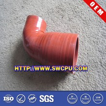 Custom red silicone pipe insulation