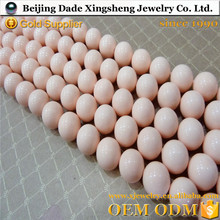 custom 15mm freshwater pearls best rich color and type 16-inch shell pearls strands