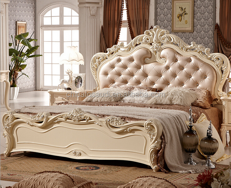 Königliche möbel antik weiß schlafzimmer-sets-Schlafzimmer-Set ...