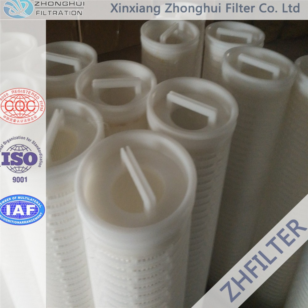 Replace Pall Ultipleat High Flow water filter element HFU640UY200JUW