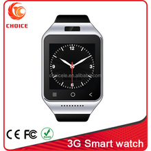 Wholesale Android 4.4 wifi 3g internet watch phone with camera and GPS