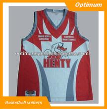 High quality custom basketball top