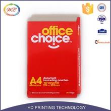 Hot Sale Custom Design portable Standard recycle kraft a4 size paper box