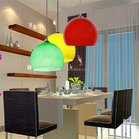 Acrylic / polycarbonate Milky white round dome plastic ceiling light covers