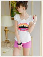 dabuwawa girls printed t shirts t shirt crew neck wholesale blank t shirts tee shirts