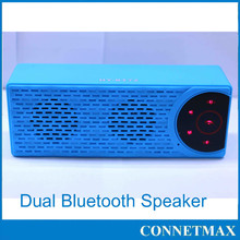 Portable new Stereo Bluetooth Speaker Incredibly Powerful Sound with flashlight Built in Dual Bass Diaphragm - New Version