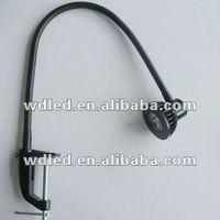 3W Flexible arm led gooseneck machine tool clip work light