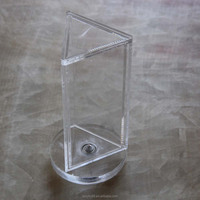 Clear acrylic rotate table stand menu holder with wholesale manufacturer in Shenzhen