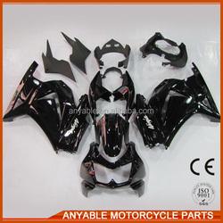 China popular cool for kawasaki ninja 250r 2008-2012 side fairings for motorcycle model