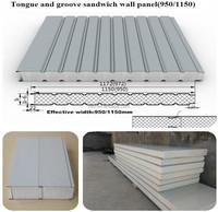 wholesale low price eps sandwich wall panel/polystyrene foam wall sandwich panel for prefab home