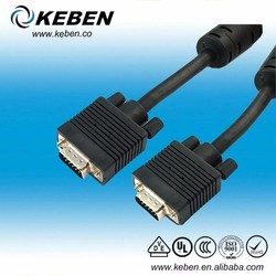 Super quality av male to male adapter rca male to male av cable male to male docking video