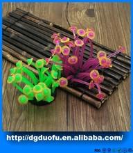 2015 new fashional soft corals, colourful artificial live coral reef ornaments,fake sea corals decoration