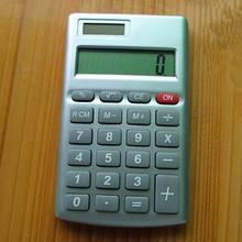 8 digit rectangle handheld calculator