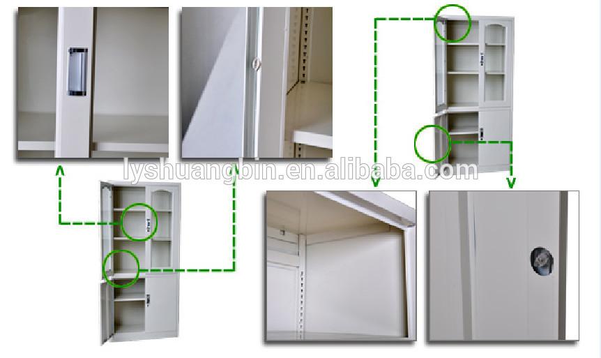 adjustable shelves steel glass filing storage cupboard metal cabinet rh alibaba com metal medicine cabinet shelves metal cabinet shelf support
