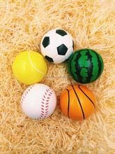 Basketball size 1 high quality trainingmatch rubber football mini rubber basketball