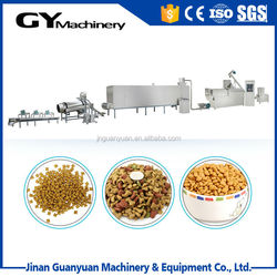 Low cost and good sell wet dog cat fish feed making line in Jinan