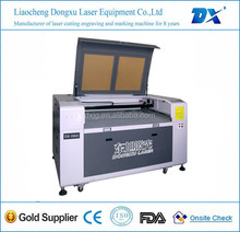 DX-6090 fast speed water cooling universal plastic laser cutting machine